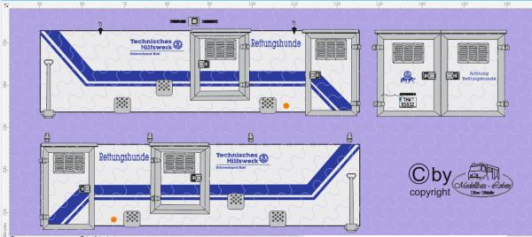 D-2017.018 - THW Kiel - Rettungshunde Anhänger