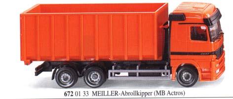 Wiking 6720133 Meiller Abrollkipper 1/87