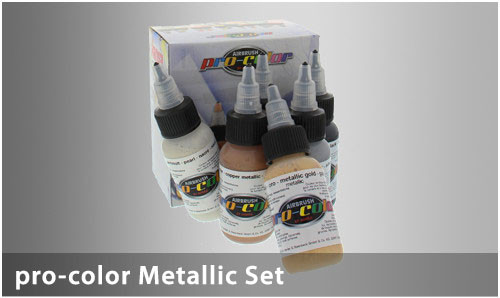 HS 67040 pro-color Metallic-Set