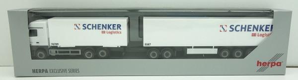 Herpa 14411 Exclusive Serie 1:87 - MB Actros SCHENKER DB Giga-Liner