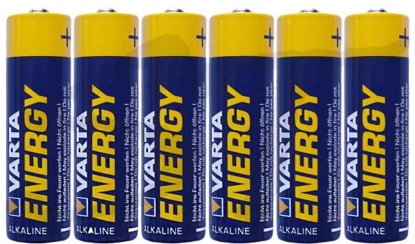 VARTA ENERGY Alkaline Batterien AA Mignon AAA Micro LR6 LR06 1.5V 6 Stück