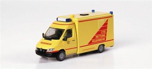 Herpa 046312 Exclusiv Mercedes Sprinter Feuerwehr Hamburg Altona I-RTW