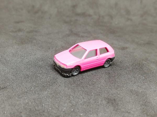 Wiking VW Golf rosa 1:160