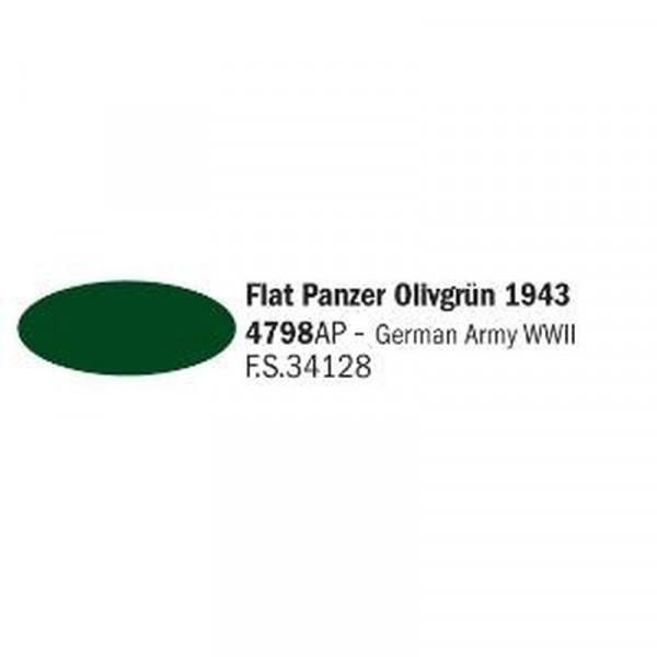 4798AP Vallejo Italeri Acrylicpaint Acrylfarbe flat Tank olive Drab 1943 - Panzer Olivgrün 1943 , ma