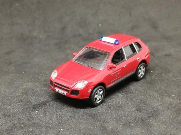 Schuco Porsche Chaenne Feuerwehr