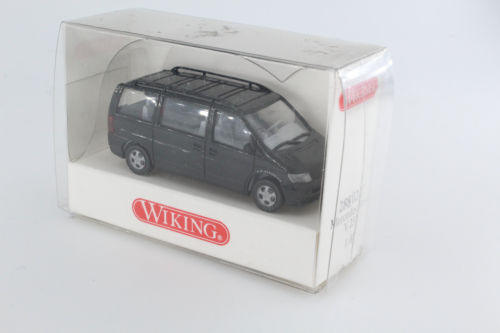 Wiking 1/87 Nr. 288 02 22 Mercedes Benz V 230 Bus schwarz OVP