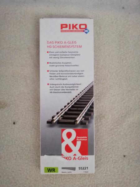 Piko 55221 A-Gleis Weiche rechts 1:87 1 Stk.