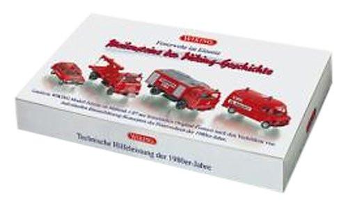 """Wiking 099081 Feuerwehr Set """"Feuerwehr im Einsatz"""" 4 Fahrzeuge"""