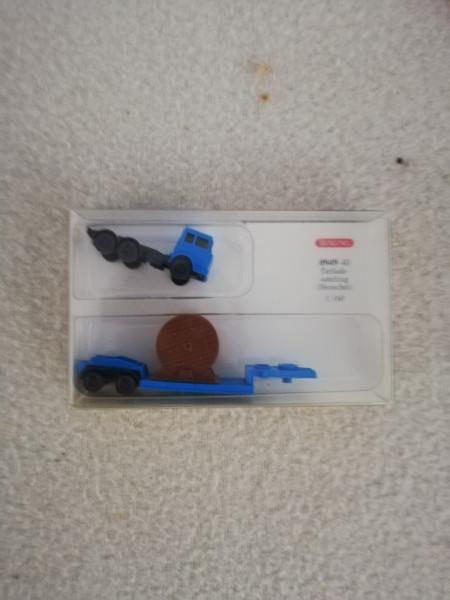 Wiking 094940 Mercedes Tiefladesattelzug Henschel 1:160