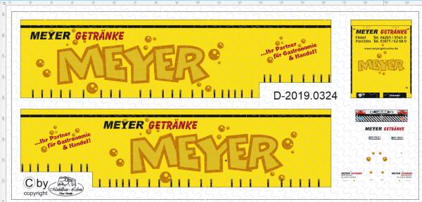 D-2019.0324 - Decalsatz Meyer Gertänke - 1 Stk - 1:87