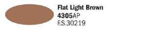4305AP Vallejo Italeri Acrylicpaint Acrylfarbe FLAT Light Brown Hellbraun, matt 20 ml