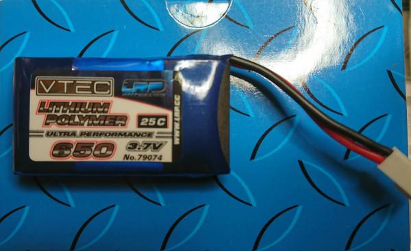 LRP 79074 Lipo Akku 25 c - 650mAh / 3,7 V