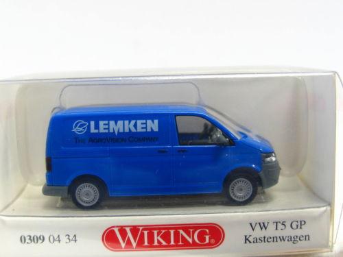 Wiking 0309 04 34 VW T5 GP Kastenwagen Lemken OVP