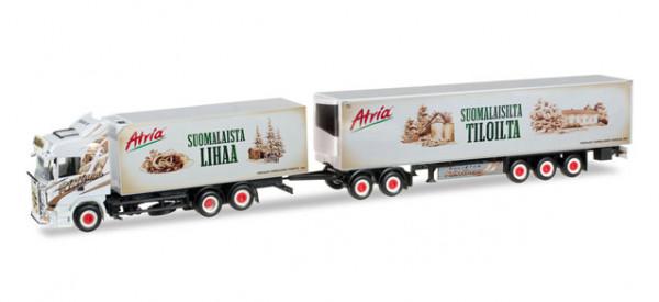 "Herpa 305495 Scania R HL Eurocombi ""Ristimaa Atria"" (SF)"