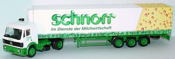 Herpa 142502 Mercedes Schnorr Im Dienste der Milchwirtschaft SZ