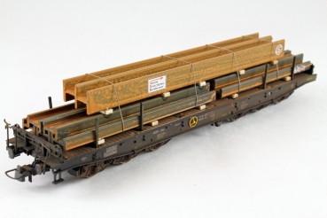 Vorbestellung Ladegüter Bauer H01065 H-Stahlträgerpaket 2 verschiedene verrostete Stahlträger mir ve