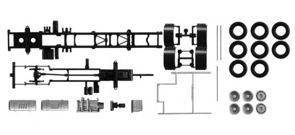 084451 Fahrgestell Volvo FH 3-achs Inhalt: 2 Stück