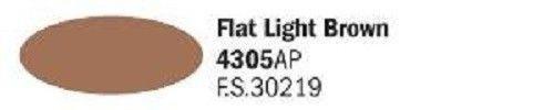 4306AP Vallejo Italeri Acrylicpaint Acrylfarbe FLAT Medium Brown Braun, matt 20 ml