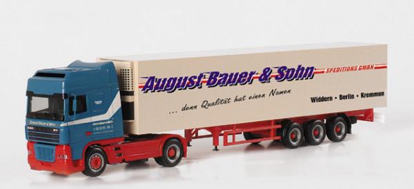 "Herpa 149563 DAF XF SSC Kühlkoffer-Sattelzug ""A. Bauer & Sohn"""