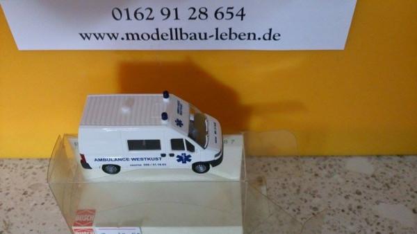 Busch 47355 Citroen Jumper Belgische Ambulanz