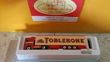 """AWM Mercedes Actros Spedition Rigtering """"Toblerone """""""