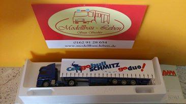 AWM 507661 MB mit Schmitz Cargobull go duo Auflieger