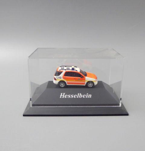 "Busch Automodelle ""Bocholter Blitz"" ML 270 CDI-NEF Notarzt limitiert Nr.:671 1:87 NEU OVP"