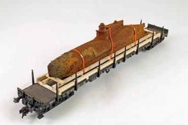 Vorbestellung Ladegüter Bauer H01137 U-Boot Fund altes 2 Mann U-Boot gefunden bei Tieferlegung des H