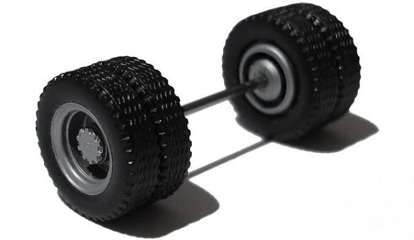690003 B - Radsatz silber, Antriebsachse