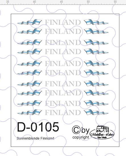 D-0105 Sonnenblende Finnland