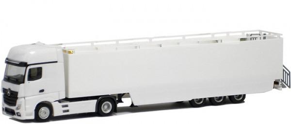 Herpa BM 000333 LKW MB Actros 11 Giga KSZ WM Promotion Truck weiß