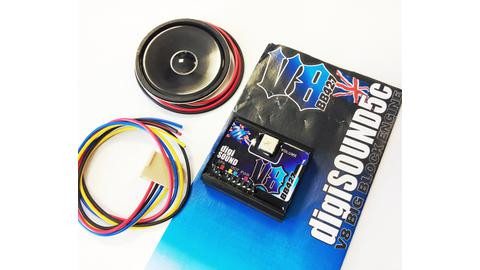 Carson 500906140 - Mtroniks Digi-Sound V8 Big Block -