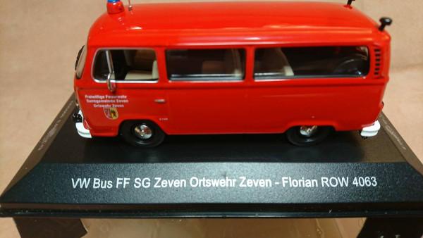 Ixo - 3604619 VW T2 Bus FF Zeven Ortswehr Zeven Florian ROW 4063 - 1:43