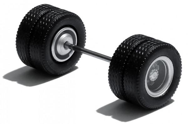 690003 F - Radsatz silber lackiert, MEDI Hypoid Antriebsachse