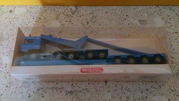 Wiking 5050135 MAN Zugmaschine mit Tieflader