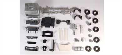 Tekno 80455367 - Bausatz MB Actros Zgm 6x2 1:50