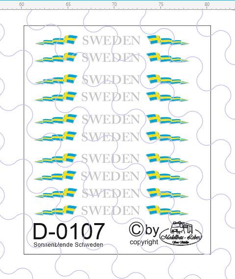 D-0107 Sonnenblende Schweden