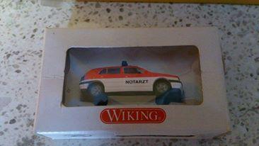 Wiking 07101 Feuerwehr VW Golf Notarzt