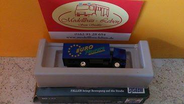 """Faller Car System 1603- DAF Koffer LKW """"Euro Flowers"""""""
