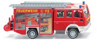 Wiking 6110337 Feuerwehr LF 16 / 12 Iveco Eurofire