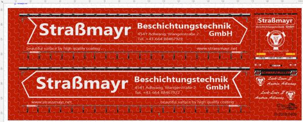 D-2019.0409 Decalsatz Straßmayr Planenauflieger - 1 Stk - 1:87