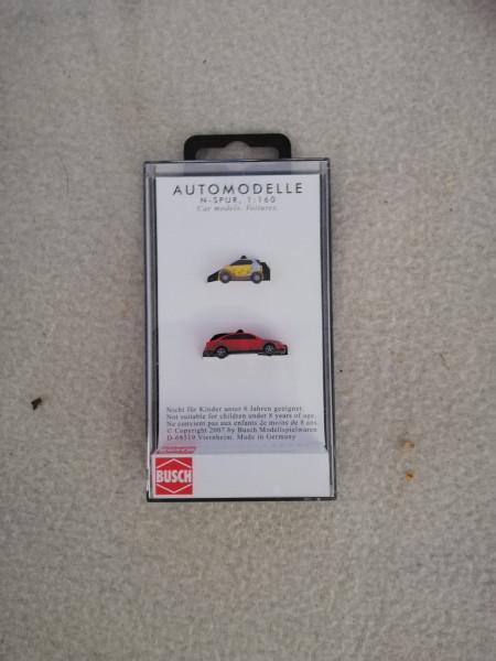 Busch 8355 Smart und Audi A4 1:160