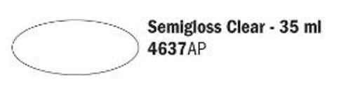 4637AP Vallejo Italeri Acrylfarbe Klarlack seidenmatt 35 ml