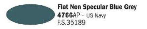 4766AP Vallejo Italeri Acrylicpaint Acrylfarbe Flat Non Specular Blue Grey - Nicht spiegelndes Blau-