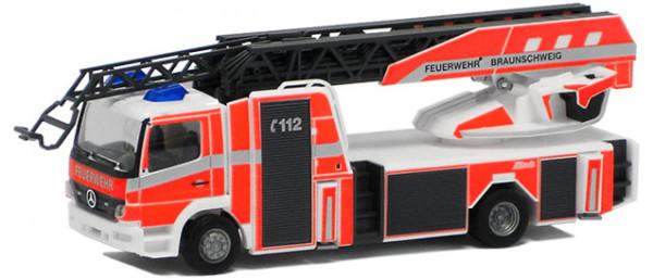 Herpa 091763 - Feuerwehr Braunschweig, MB Atego 2010 Metz Drehleiter