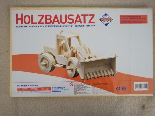 Pebaro 863/6 Holzbausatz Radlader