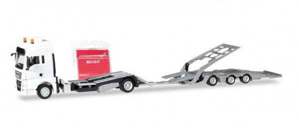 H 013529 MiniKit MAN TGX XXL LKW-Transporter HZ, weiß